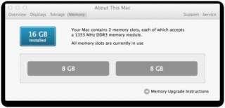 8gb DDR3 RAM SODIMM LAPTOP NOTEBOOK FOR APPLE MACBOOK PRO DELL HP SONY