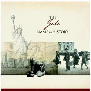 The Gede Name in History: Ancestry Books
