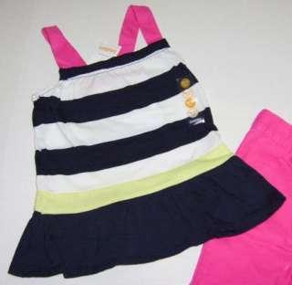 Gymboree Girl Cape Cod Cutie Shirt Short Lot 18 24 NWT
