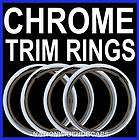 CHEVY 14 CHROME TRIM RINGS BEAUTY BANDS GLAMOUR WHEEL RIM STEEL