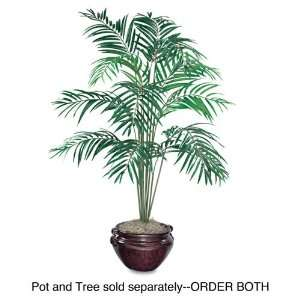life like appearance with high quality silk foliage and trunk.   Low
