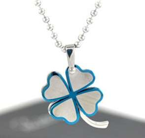 NEW premier designs jewelry stainless steel necklace Lucky leaf
