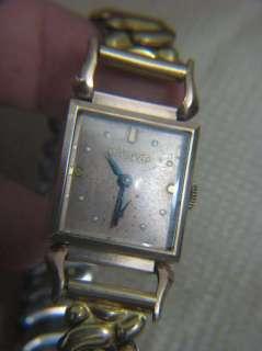 Bulova Art deco 14k gold filled watch