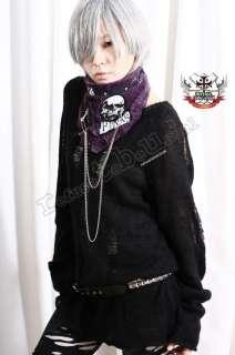 Visual Kei Punk Gothic FUR Neck Wrap/Scarf/Mask PURPLE