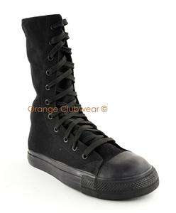 STEEL TOE Goth Punk Sneakers Casual Gothic Shoes 885487015293