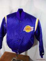 Vtg Starter.Los Angeles Lakers.NBA Basketball.Jacket.L*