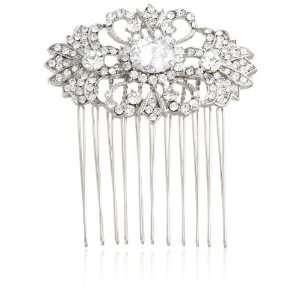 Nina Bridal Frances Swarovski Crystal Hair Comb Jewelry