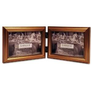 Lawrence Frames Antique Gold Wood Double 6x4 Horizontal