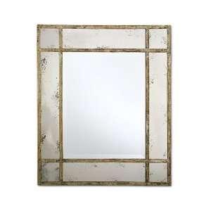Paris Mansion Antiqued Gold Wall Mirror