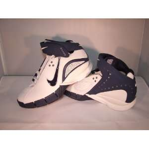 Womens Nike Zoom Air Huarache Basketball Shoes 5.5 Navy