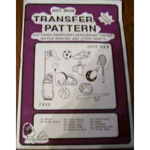 Hot Iron Transfer Pattern #2013 Sporting Equipment (For Punch
