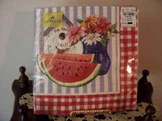 Paper Napkins Dinner WATERMELON Craft Decoupage NEW