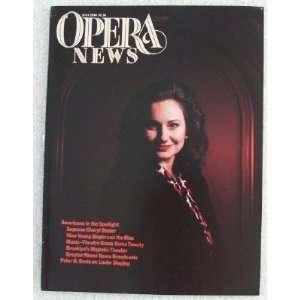 Opera News Magazine. July 1990. Single Issue Magazine. Volume 55, No
