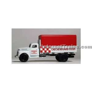IMEX HO Scale Ford Truck w/Sack Load   Checkerboard Feed