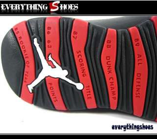 Nike Jordan Retro 10 X Chicago bulls White Varsity Red Black 310805100