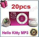 Pink Hello Kitty Clip  Player 1 8G TF Card 8 Colors