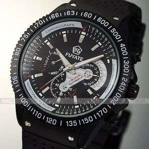 Automatic High Quality Silver Mechanical Movt Men Wrist Auto Watch