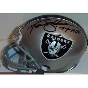 Ken Stabler Signed Mini Helmet   Replica  Sports
