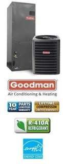 Ton 15 Seer Goodman Heat Pump System   SSZ140361   AVPTC31371