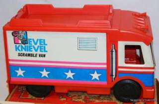 Scramble Van, Stunt Cycle, Comic Book & More Vintage Ideal Toys