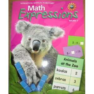 Harcourt Math Expressions (Math Expressions 2009   2012