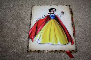 SNOW WHITE JOURNAL DISNEY DESIGNER DOLL NOTEBOOK NOTEPAD LIMITED SOLD