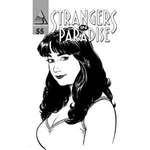 Strangers in Paradise #55 Comic: Terry Moore: Books