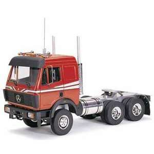 Wedico RC red Mercedes SK Truck   1/14.5 scale kit