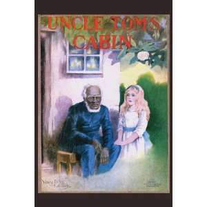 Uncle Toms Cabin 20x30 poster: Home & Kitchen