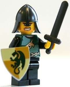 LEGO Kingdoms Sword Dragon Knight Minifigure 7949
