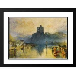 Turner, Joseph Mallord William 24x19 Framed and Double