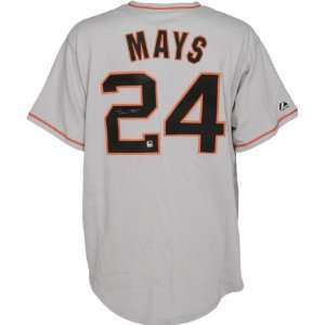 Willie Mays Autographed Jersey  Details San Francisco Giants, Grey