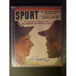 Willie Mays San Francisco Giants Autographed August 1961