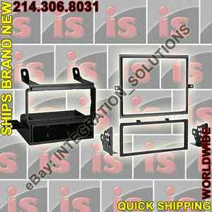 7581   SINGLE/DOUBLE DIN STEREO/RADIO INSTALL DASH FIT MOUNT TRIM KIT
