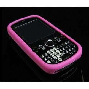 HOT PINK Full View Soft Silicone Skin Case for Palm Treo