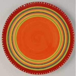 Certified Int Corp Hot Tamale Dinner Plate, Fine China Dinnerware