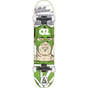 Cliche Nuske 3d Super Heros Complete Skateboard   7.5 w/Mini