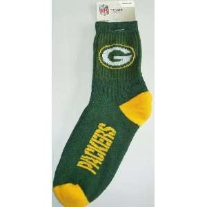 Packers Team Color Football Socks Mens Medium 5 10