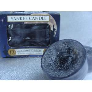 Yankee Candle Midsummers Night Dream Tea Light Candles