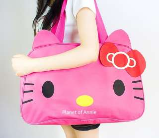 Pink Hello Kitty Travel Shoulder Tote Hand bag purse