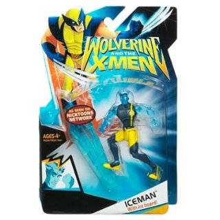 Wolverine and the X Men Animated Action Figure Iceman (With Clothes)