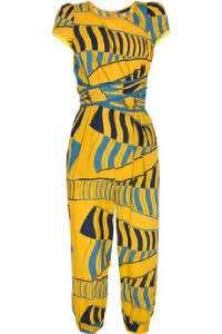 Marc by Marc Jacobs Dashiki Stripe Jumpsuit Jumper Romper Sunflower 2