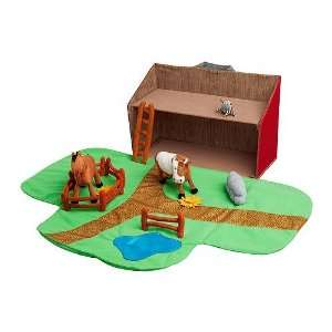 Farmhouse with Animals,13 Piece Set Toys & Games