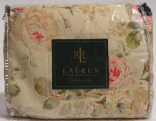 NEW Ralph Lauren WOODSTOCK GARDEN Floral QUEEN Bedskirt