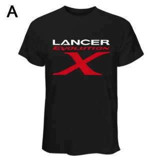Shirt Lancer Evolution X ( 10 ) Evo Mitsubishi Logo Sports Car