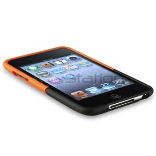 Rubberized Hard Case Cover+LCD Guard for iPod Touch 2G 3G 3rd G Gen
