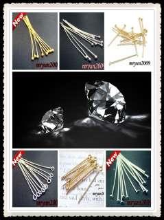 Design Repair gold Silver plated BALL FLAT HEAD PINS Needles
