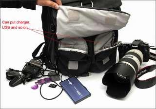 DSLR SLR Camera Backpack Handbag Travel Bag Case For Canon