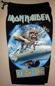 Iron Maiden Flight 666 Cotton Shorts free Size new