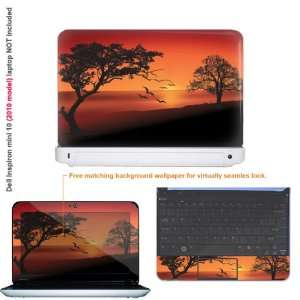 Protective decal sticker for Dell Inspiron 1012 case cover 10mini10 22